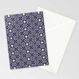 Pattern art curtain 2 Stationery Cards