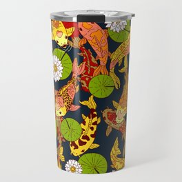 Bright Koi Travel Mug