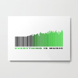 Music Everywhere Metal Print