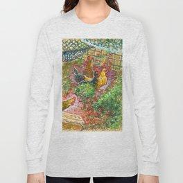 Chick Pen Long Sleeve T-shirt