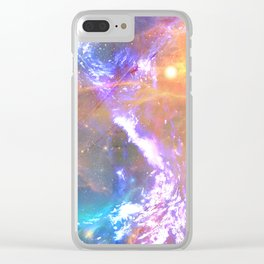 Between sun and sea Clear iPhone Case