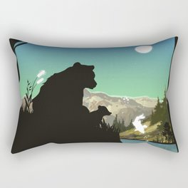Out For Adventure Rectangular Pillow