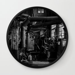 Old Factory 2 Wall Clock