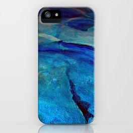 Landscape Blue iPhone Case