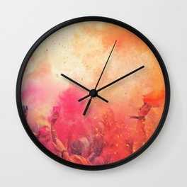 jittery moment as emotions echoed Wall Clock
