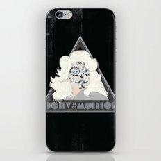 Dolly de los Muertos iPhone & iPod Skin