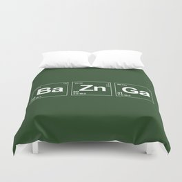 Breaking Bazinga Duvet Cover