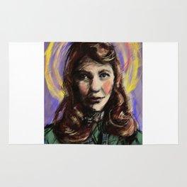 St. Sylvia Plath Rug