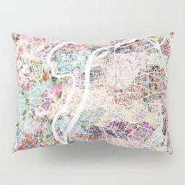 Lyon map Pillow Sham