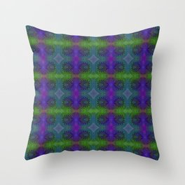 Tryptile 47l (Repeating 2) Throw Pillow