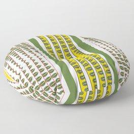 Leafs n Lines Floor Pillow