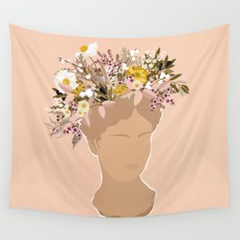 Guadalupe Flora II Wall Tapestry