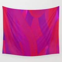 mom Wall Tapestries featuring For Mom by Kali Thomas