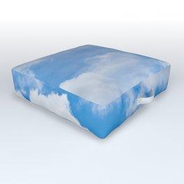 Partly Cloudy Outdoor Floor Cushion