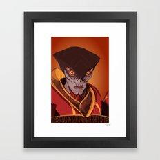 spectr.es: Javik Framed Art Print