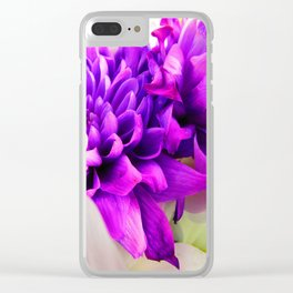 Silk Sheets Clear iPhone Case