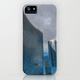 Las Vegas highrise in winter iPhone Case