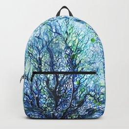 Fan Coral - Aqua Backpack