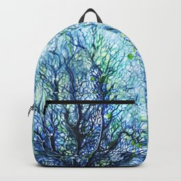 Fan Coral - Aqua Backpack