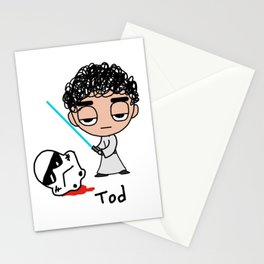 Tod the Jedi Stationery Cards