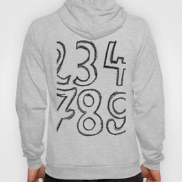 crayon numbers Hoody