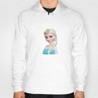 frozen elsa Hoodies featuring Elsa - Frozen by lauramaahs