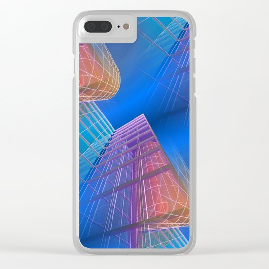 citylines -6- Clear iPhone Case