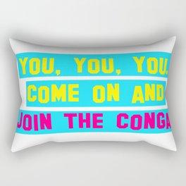 Everybody Conga!  Rectangular Pillow