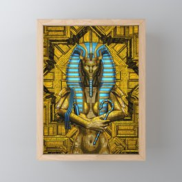 Sacred Queen Framed Mini Art Print