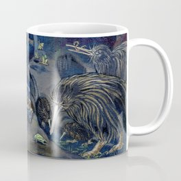 Kiwi, Bats, Morepork and More Coffee Mug