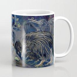 Kiwi, Bats, Morepork and More Coffee Mug