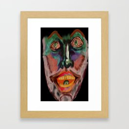 gold tooth Framed Art Print