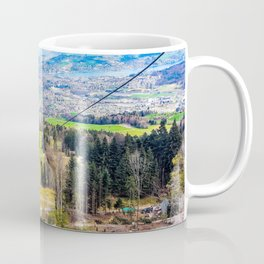 Traveling Up the Mountain Coffee Mug