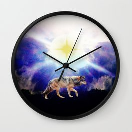 Guided by the Light Wall Clock