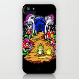 Psychedelic Magic Mushrooms Festival Trip iPhone Case