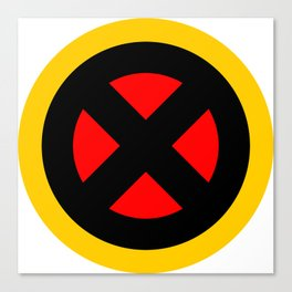 The X logo Canvas Print
