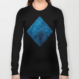 Bold Burst in Blue Long Sleeve T-shirt