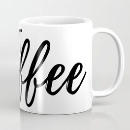 But First, Coffee #society6 Coffee Mug