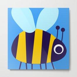 Big Bee Metal Print