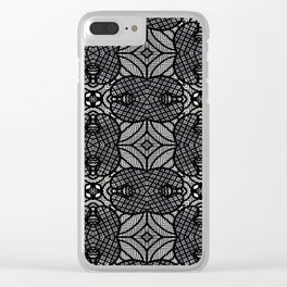 Doodle Pattern 17 Clear iPhone Case