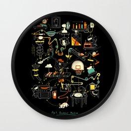 Breakfast Machine Wall Clock