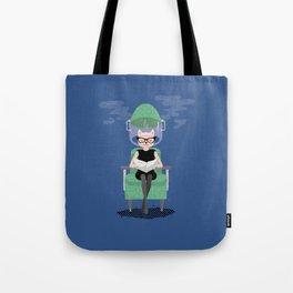 The Feline Beauty Parlour Tote Bag