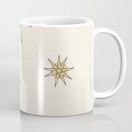 Atomic Age Sputnik Starburst Planets Coffee Mug