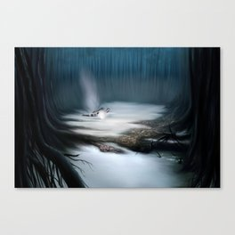 Swamps of Dagobah Canvas Print