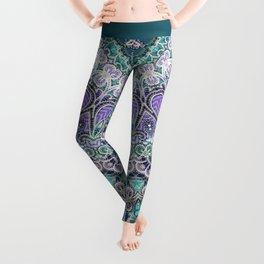 Vintage Lace Mandala Leggings