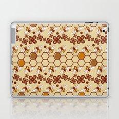 Honeycomb and Bees Laptop & iPad Skin