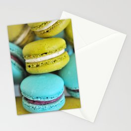 MACARONS WORLD 454 Stationery Cards