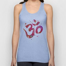 Colorful Om Symbol Unisex Tank Top