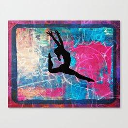Gymnast Canvas Print