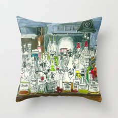 The Locals Throw Pillow